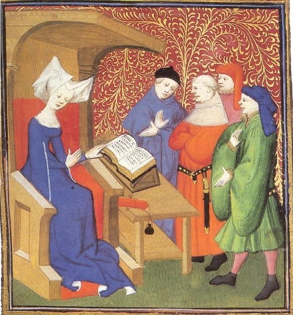 Christine de Pizan tiene una lezione